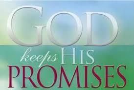God keep His promises